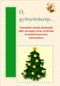 Karácsonyi plakát