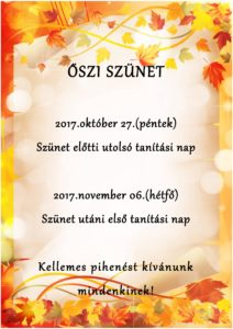 ŐSZI SZÜNET2017-1