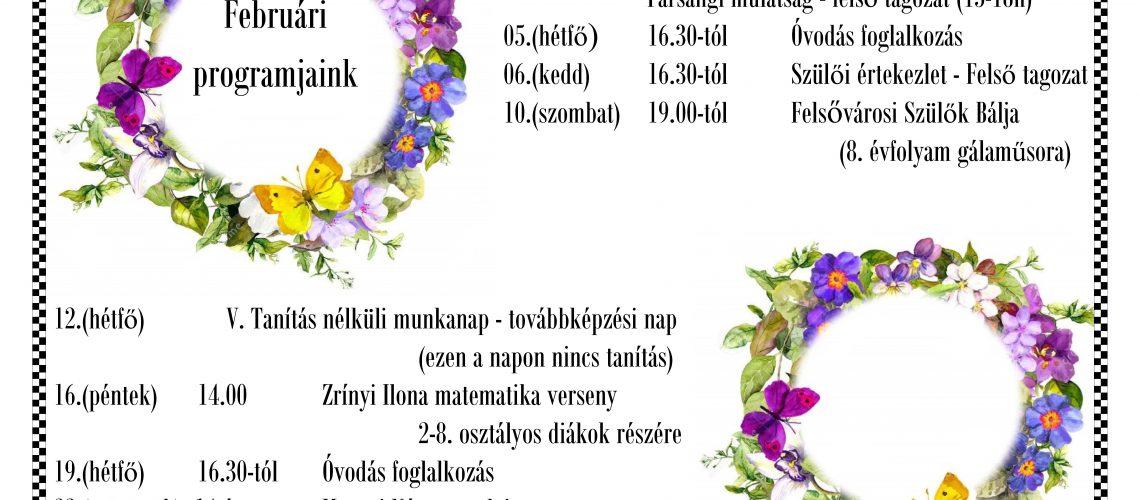 februári-programunk